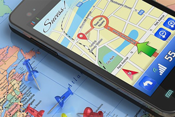GPS can be of help when navigating