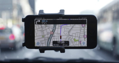 The Power of GPS of Navigation Maps While Driving