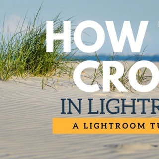 Take the cropping of an Image Light with the Lightroom