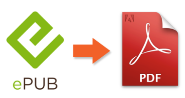 The best ways of converting Mobi and Epub Ebooks to PDF